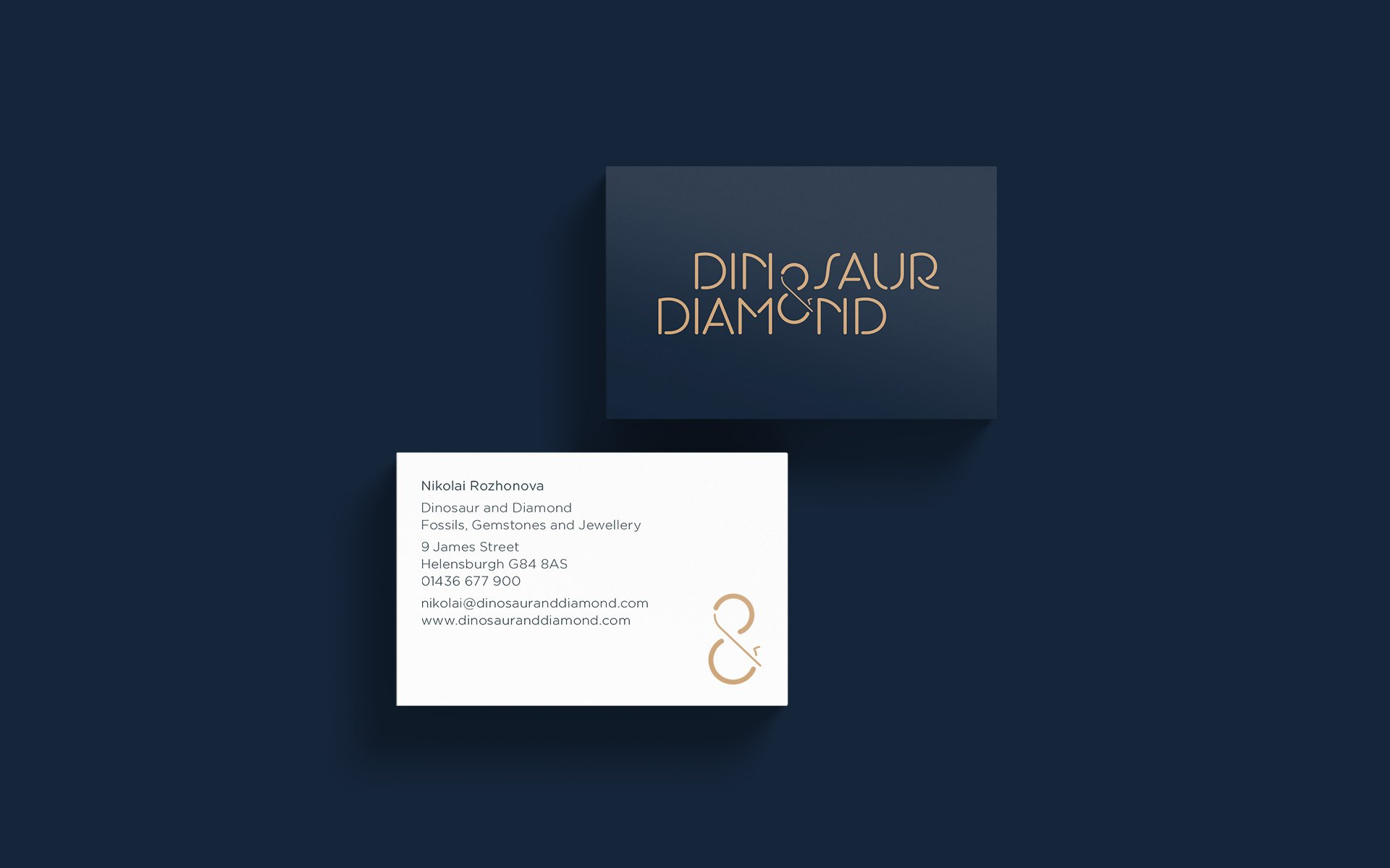 dinosaur diamond business cards haiwyre